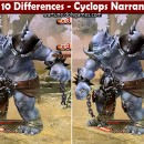 Spot 10 Differences – Cyclops Narrandera