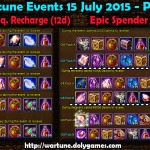 Wartune Events 15 July 2015 - Part 2
