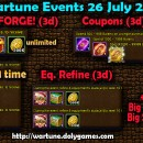 Wartune Events 26 July 2015