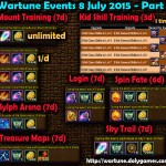 Wartune Events 8 July 2015 - Part 1