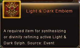 Light and Dark Emblem