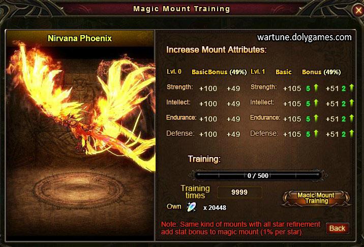 Magic Mount Training Level 0