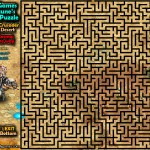 Maze Puzzle - Cosmos Crusader in the Desert