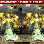 Spot 10 Differences - Dimension Fort Boss Roy