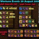 Wartune Events 29 August 2015