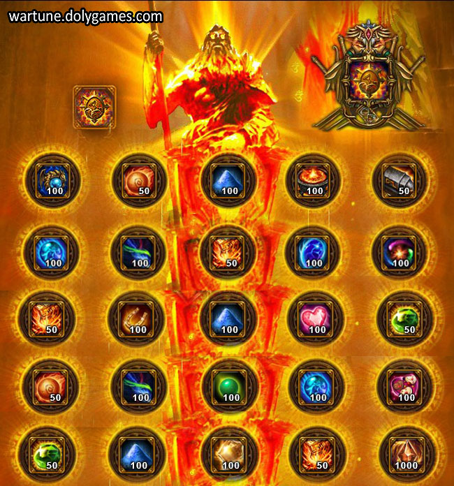 Ancient Offering Sacrifice Dimension Wartune 1