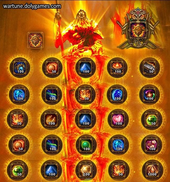 Ancient Offering Sacrifice Dimension Wartune 1