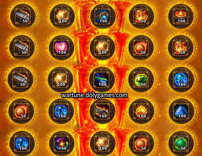 Ancient Offering Sacrifice Dimension Wartune 2