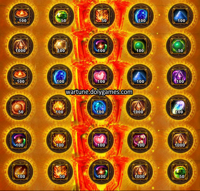 Ancient Offering Sacrifice Dimension Wartune 3