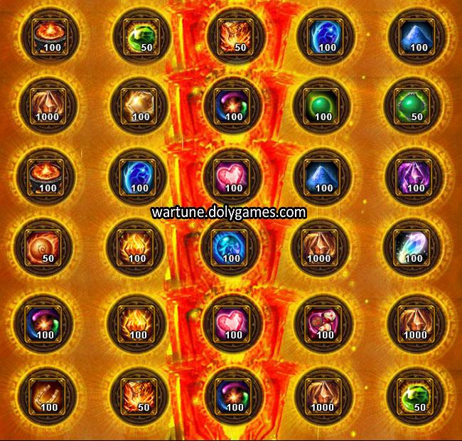 Ancient Offering Sacrifice Dimension Wartune 3