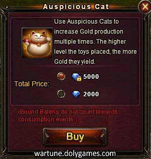 Auspicious Cat