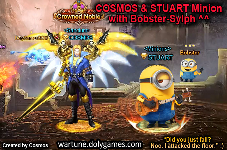 COSMOS & STUART Minion with Bobster-Sylph