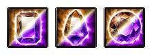 Dark + Electro Dual RES Crystal