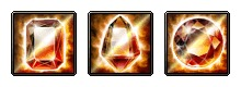 Dark + Fire RES Dual Crystal