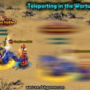 Gas while Teleporting in Wartune Wilds