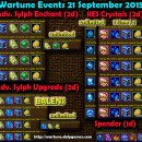 Wartune Events 21 September 2015