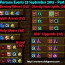 Wartune Events 23 September 2015
