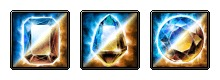 Water + Dark RES Dual Crystals