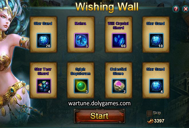 Wishing Wall before September 2015 patch