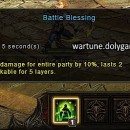 Battle Blessing Analysis in Wartune Bounty Targets