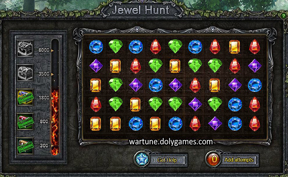 Jewel Hunt wide board - patch Nov 2015