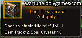 Lost Treasure of Antiquity 1 - patch Nov 2015