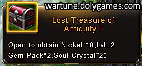 Lost Treasure of Antiquity 2 - patch Nov 2015