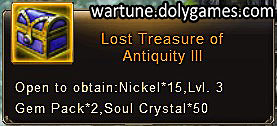 Lost Treasure of Antiquity 3 - patch Nov 2015