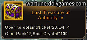Lost Treasure of Antiquity 4 - patch Nov 2015