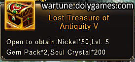 Lost Treasure of Antiquity 5 - patch Nov 2015