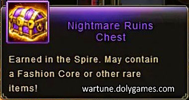 Nightmare Ruins Chest Spire NM