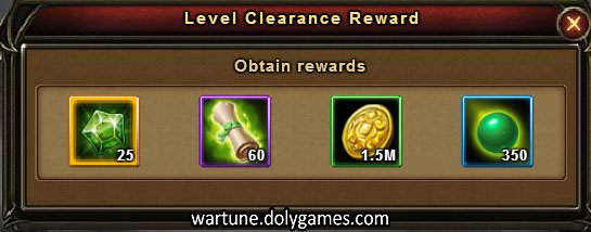 Sky Trail Stages (Stage 5) Level Clearance Reward