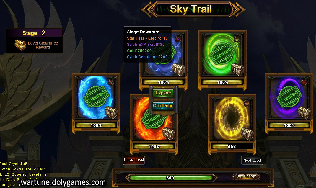 Sky trail stage 2