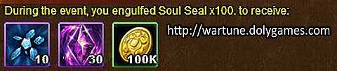 Soul Seal - Wartune Events 2 November 2015