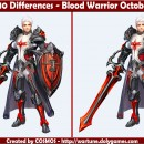 Spot 10 Differences – Blood Warrior October 2015