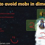 Trick to avoid mobs in dimension