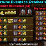 Wartune Events 13 October 2015