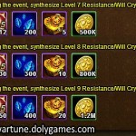 Wartune Events 19 October - RES Crystal synth 2
