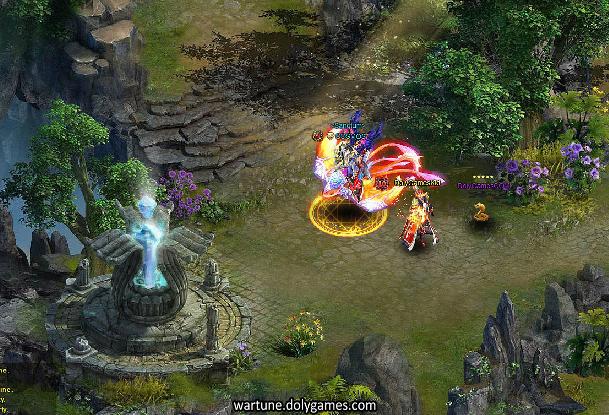 Where in Wartune is this? Column & Flower. Correct answer = Sylph Atoll Level 3