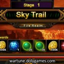 Example Rewards Only Explore of Sky Trail