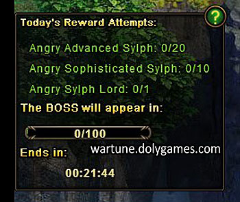 patch - New Sylph Atoll BOSS System