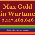 Max Gold in Wartune is 2,147,483,646