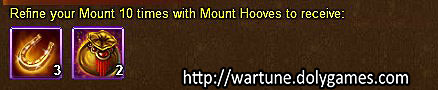 Mount Refine unlimited - Wartune Events 13 November 2015