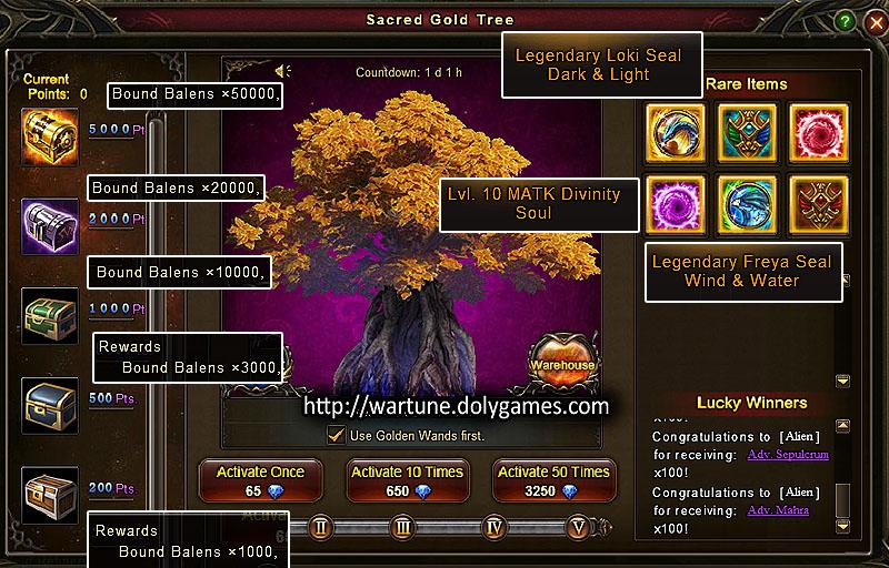 Sacred Gold Tree 13-15 Nov 2015