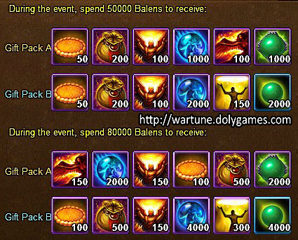 Sylph Enchantment Spender 3 - Wartune Events 16 November 2015