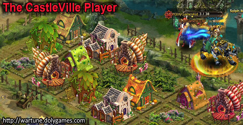 The CastleVille Player - Wartune Farm Fantasy Alternatives