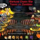 Wartune Chaos War Toons vs Zombies