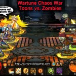 Wartune Chaos War Toons vs Zombies