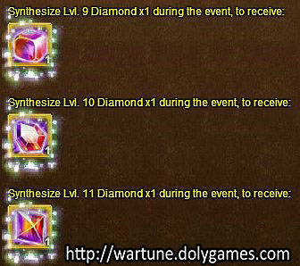 diamond synth 3 - Wartune Events 7 November 2015