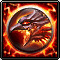 Arise Sylph Seal Fire icon Wartune
